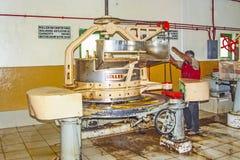 Μέσα σε ένα εργοστάσιο τσαγιού Στοκ εικόνες με δικαίωμα ελεύθερης χρήσης