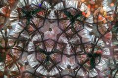 Μέσα σε ένα καλειδοσκόπιο Στοκ Φωτογραφίες