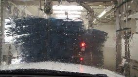 Μέσα σε ένα πλύσιμο αυτοκινήτων απόθεμα βίντεο