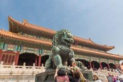 Μέσα στην απαγορευμένη πόλη, Πεκίνο, Κίνα Στοκ εικόνα με δικαίωμα ελεύθερης χρήσης
