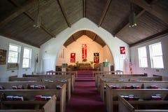 Μέσα στην εκκλησία Στοκ φωτογραφία με δικαίωμα ελεύθερης χρήσης