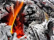 Μέσα στην πυρκαγιά στοκ φωτογραφίες