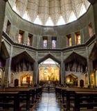 Μέσα στη βασιλική Annunciation στη Ναζαρέτ, Ισραήλ Στοκ φωτογραφίες με δικαίωμα ελεύθερης χρήσης