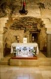 Μέσα στη βασιλική Annunciation στη Ναζαρέτ, Ισραήλ Στοκ Φωτογραφία