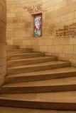 Μέσα στη βασιλική Annunciation στη Ναζαρέτ, Ισραήλ Στοκ φωτογραφία με δικαίωμα ελεύθερης χρήσης