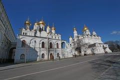 Μέσα στη Μόσχα Κρεμλίνο Στοκ Φωτογραφίες
