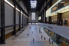 Μέσα στη στοά του Tate Modern Στοκ φωτογραφία με δικαίωμα ελεύθερης χρήσης
