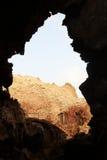 Μέσα στον κρατήρα έκρηξης του ηφαιστείου Dallol, κατάθλιψη Danakil, Αιθιοπία Στοκ εικόνες με δικαίωμα ελεύθερης χρήσης