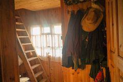 Μέσα στο εξοχικό σπίτι Στοκ Εικόνες