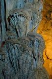 Μέσα στο καρστ σπηλιών Ispingoli στη Σαρδηνία Στοκ Φωτογραφία