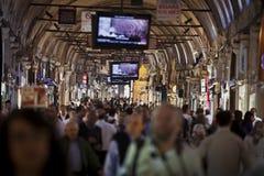 Μέσα στο μεγάλο Bazaar στη Ιστανμπούλ Στοκ Εικόνα