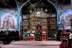 Μέσα στο μοναστήρι Zamfira Στοκ φωτογραφία με δικαίωμα ελεύθερης χρήσης