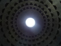 Μέσα στο ρωμαϊκό pantheon στοκ φωτογραφίες με δικαίωμα ελεύθερης χρήσης