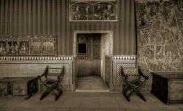 Μέσα στο Alcazar Segovia Στοκ φωτογραφία με δικαίωμα ελεύθερης χρήσης