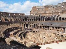 Μέσα στο Colosseum, Ρώμη, Ιταλία στοκ εικόνες με δικαίωμα ελεύθερης χρήσης