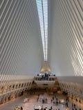 Μέσα στο Oculus - νέα Υόρκη Στοκ φωτογραφίες με δικαίωμα ελεύθερης χρήσης