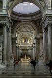 Μέσα στο Pantheon, Παρίσι Στοκ Εικόνα