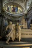 Μέσα στο Pantheon, Παρίσι Στοκ Εικόνες