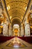 Μέσα στο ST Peters στη Ρώμη Στοκ εικόνα με δικαίωμα ελεύθερης χρήσης