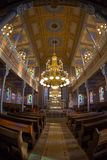 Μέσα της ορθόδοξης συναγωγής, Oradea, Ρουμανία Στοκ Εικόνες