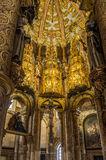 Μέσα της στρογγυλής εκκλησίας στη μονή Χριστού σε Tomar - της Πορτογαλίας Στοκ φωτογραφία με δικαίωμα ελεύθερης χρήσης