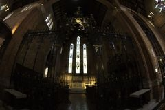 Μέσα του καθεδρικού ναού Περθ, δυτική Αυστραλία/Αυστραλία του ST George ` s Στοκ εικόνα με δικαίωμα ελεύθερης χρήσης