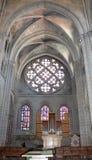 Μέσα του καθεδρικού ναού της Notre-Dame, Λωζάνη, Ελβετία Στοκ Εικόνες