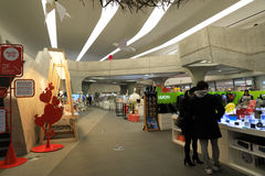 Μέσα του σχεδίου Plaza Dongdaemun Στοκ Εικόνες