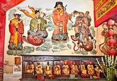 Μέσα Eng ένας κινεζικός ναός Kiong στο Μαλάνγκ, Ιάβα, Indonesi στοκ εικόνες με δικαίωμα ελεύθερης χρήσης
