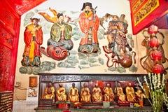 Μέσα Eng ένας κινεζικός ναός Kiong στο Μαλάνγκ στην Ιάβα στοκ εικόνες με δικαίωμα ελεύθερης χρήσης