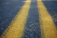 Μέσες γραμμές ενός δρόμου Στοκ φωτογραφία με δικαίωμα ελεύθερης χρήσης