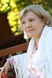 μέση γυναίκα ηλικίας Στοκ Εικόνα