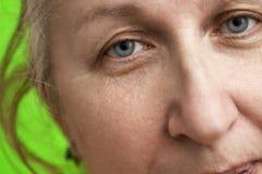 μέση γυναίκα ηλικίας Στοκ Φωτογραφία