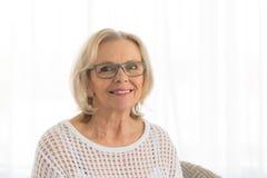 Μέση γυναικών ηλικίας Στοκ Εικόνα