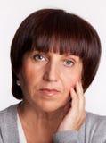 Μέση ενήλικη γυναίκα Στοκ φωτογραφία με δικαίωμα ελεύθερης χρήσης