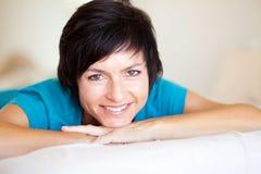 Μέση ηλικίας γυναίκα Στοκ εικόνα με δικαίωμα ελεύθερης χρήσης