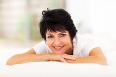 Μέση ηλικίας γυναίκα Στοκ εικόνες με δικαίωμα ελεύθερης χρήσης