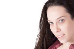 Μέση ηλικίας νέα κυρία Στοκ εικόνα με δικαίωμα ελεύθερης χρήσης