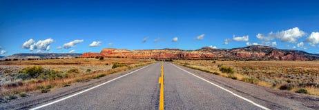 Μέση του δρόμου, Νέο Μεξικό Στοκ Εικόνες