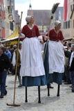μέση φεστιβάλ ηλικιών Στοκ Φωτογραφίες