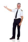 Μέσος ηλικίας καπετάνιος Στοκ φωτογραφία με δικαίωμα ελεύθερης χρήσης