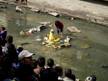 μέσος ποταμός περισυλλογής στοκ φωτογραφία