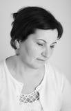 Μέσο ηλικίας πορτρέτο γυναικών Στοκ φωτογραφία με δικαίωμα ελεύθερης χρήσης