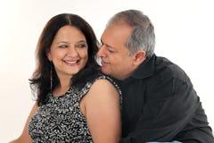 Μέσο ηλικίας ζεύγος στοκ φωτογραφίες