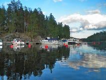 Μέσο καλοκαίρι στη Φινλανδία στοκ φωτογραφία με δικαίωμα ελεύθερης χρήσης