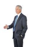 μέσο κούνημα χεριών ηλικία&sigm στοκ εικόνα με δικαίωμα ελεύθερης χρήσης