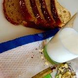Μέσο πρόχειρο φαγητό ημέρας Στοκ εικόνες με δικαίωμα ελεύθερης χρήσης