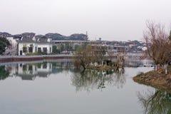 Μέσο φάσμα φραγμός-Qingyun Στοκ φωτογραφία με δικαίωμα ελεύθερης χρήσης