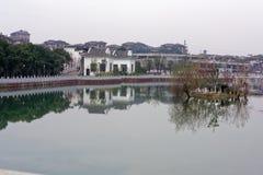 Μέσο φάσμα φραγμός-Qingyun Στοκ εικόνα με δικαίωμα ελεύθερης χρήσης