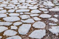 Μέσω οδικού στενού επάνω Apia, Ρώμη, Ιταλία Στοκ φωτογραφία με δικαίωμα ελεύθερης χρήσης